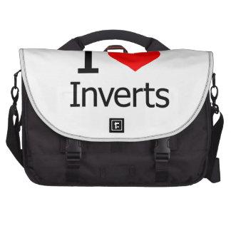 I Love Inverts Computer Bag