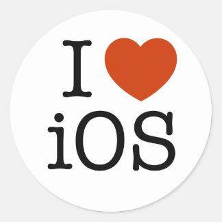 I love iOS - sticker