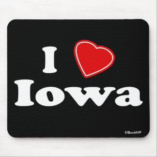 I Love Iowa Mouse Pad
