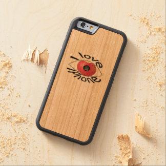 I love iphone carved cherry iPhone 6 bumper case