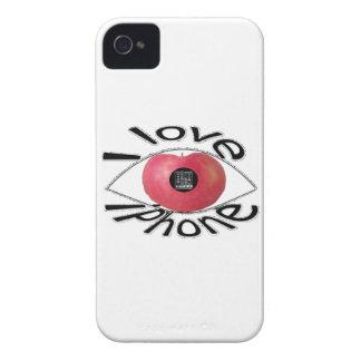 I love iPhone iPhone 4 Case-Mate Case