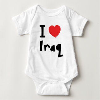 I love Iraq Baby Bodysuit