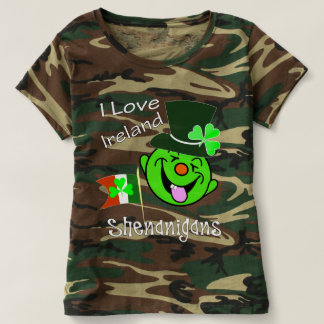 I Love Ireland Funny Shenanigans St Patrick's T-Shirt