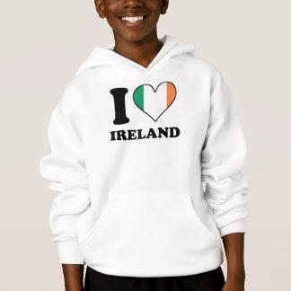 I Love Ireland Irish Flag Heart