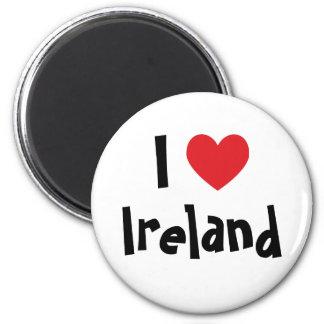 I Love Ireland Magnet