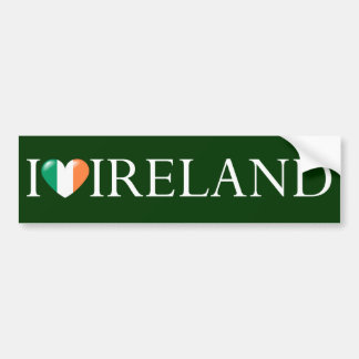 """I love Ireland"" sticker"
