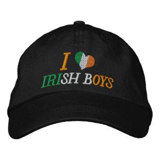 I Love Irish Boys Embroidered Hats