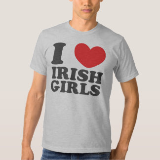I Love Irish Girls Tshirt