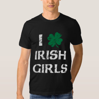 I Love Irish Girls Vintage Shirt