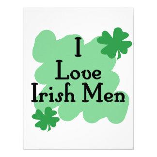 I love Irish Men Personalized Invitations