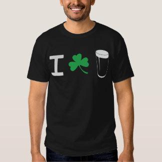 I Love Irish Stout T Shirt