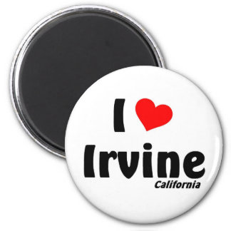 I love Irvine, California Magnet