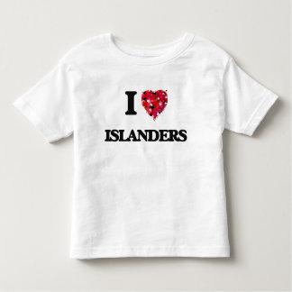 I Love Islanders Tee Shirts
