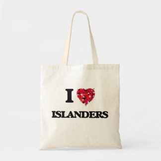 I Love Islanders Budget Tote Bag