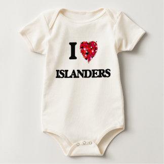 I Love Islanders Bodysuit
