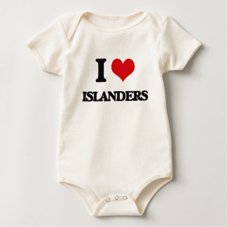 I Love Islanders Baby Creeper