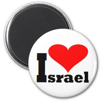 I love Israel Fridge Magnet