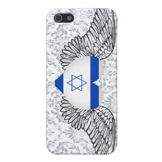 I Love Israel -wings Cover For iPhone 5