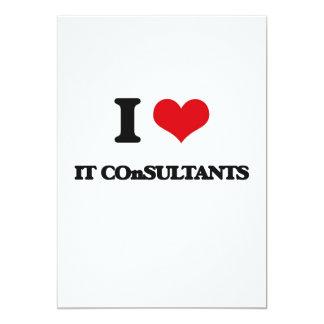 """I love It Consultants 5"""" X 7"""" Invitation Card"""