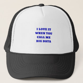 I Love it when you Call Me Big Data Trucker Hat