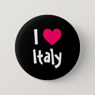 I Love Italy 6 Cm Round Badge