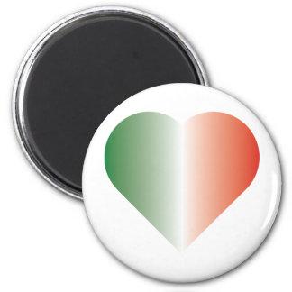 I Love Italy 6 Cm Round Magnet