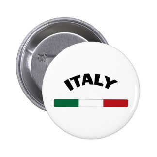 I Love Italy Pinback Buttons
