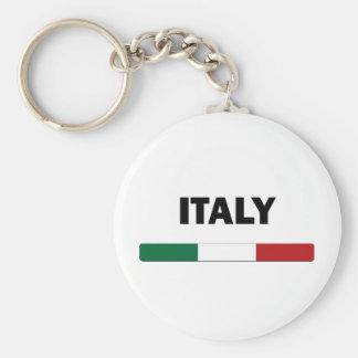I Love Italy Basic Round Button Key Ring
