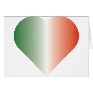 I Love Italy Greeting Card