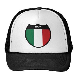 I Love Italy Mesh Hats