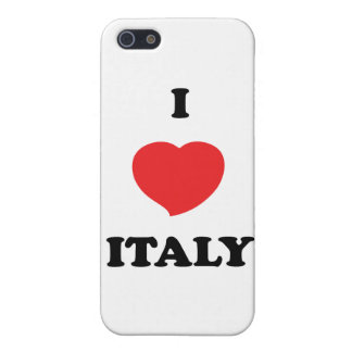 I LOVE Italy iPhone 5 Cases