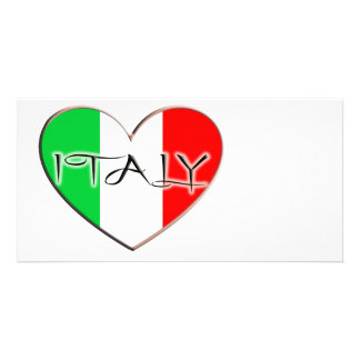 I LOVE ITALY PHOTO CARD TEMPLATE