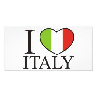 I Love Italy Photo Cards
