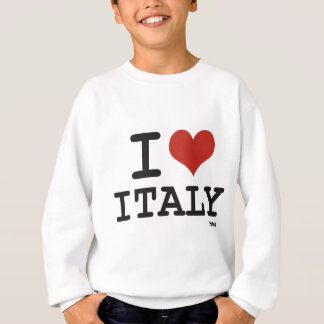 I LOVE ITALY SWEATSHIRT