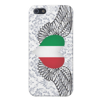 I Love Italy -wings iPhone 5 Cases