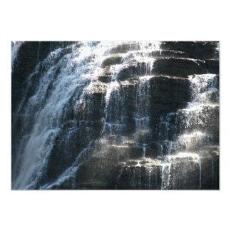 I love Ithaca Falls, New York! 5x7 Paper Invitation Card