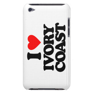 I LOVE IVORY COAST BARELY THERE iPod CASE