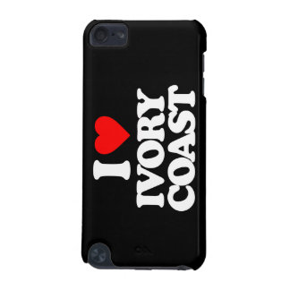 I LOVE IVORY COAST iPod TOUCH (5TH GENERATION) CASES