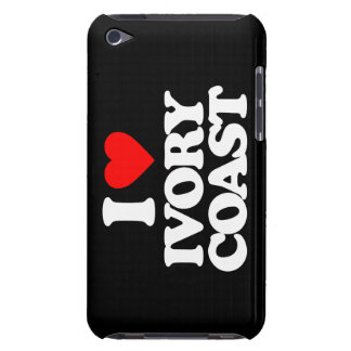 I LOVE IVORY COAST BARELY THERE iPod CASES