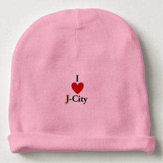 I LOVE J  (jerusalem) CITY baby hat Baby Beanie
