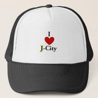 I LOVE J  (jerusalem) CITY hat
