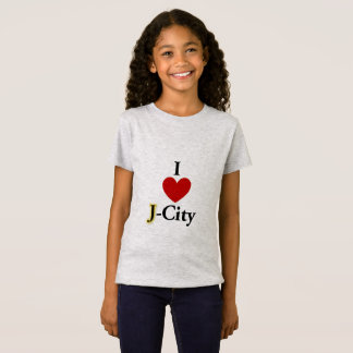 I LOVE J  (jerusalem) CITY kids T-shirt