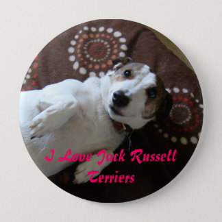 I Love Jack Russell Terriers Button