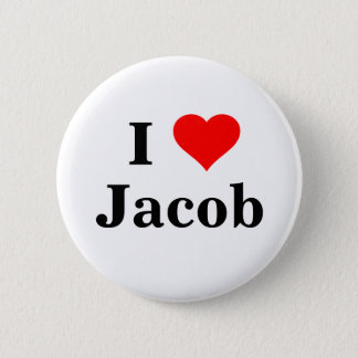 I love Jacob Button