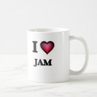 I Love Jam Coffee Mug