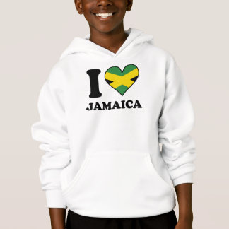 I Love Jamaica Jamaican Flag Heart