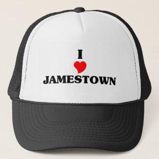 I love Jamestown Trucker Hat