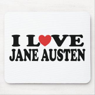 I Love Jane Austen Classic Mouse Pad