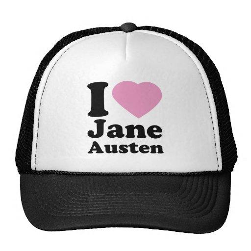 I Love Jane Austen Hat