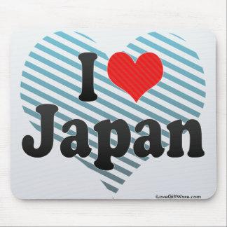 I Love Japan Mousepad